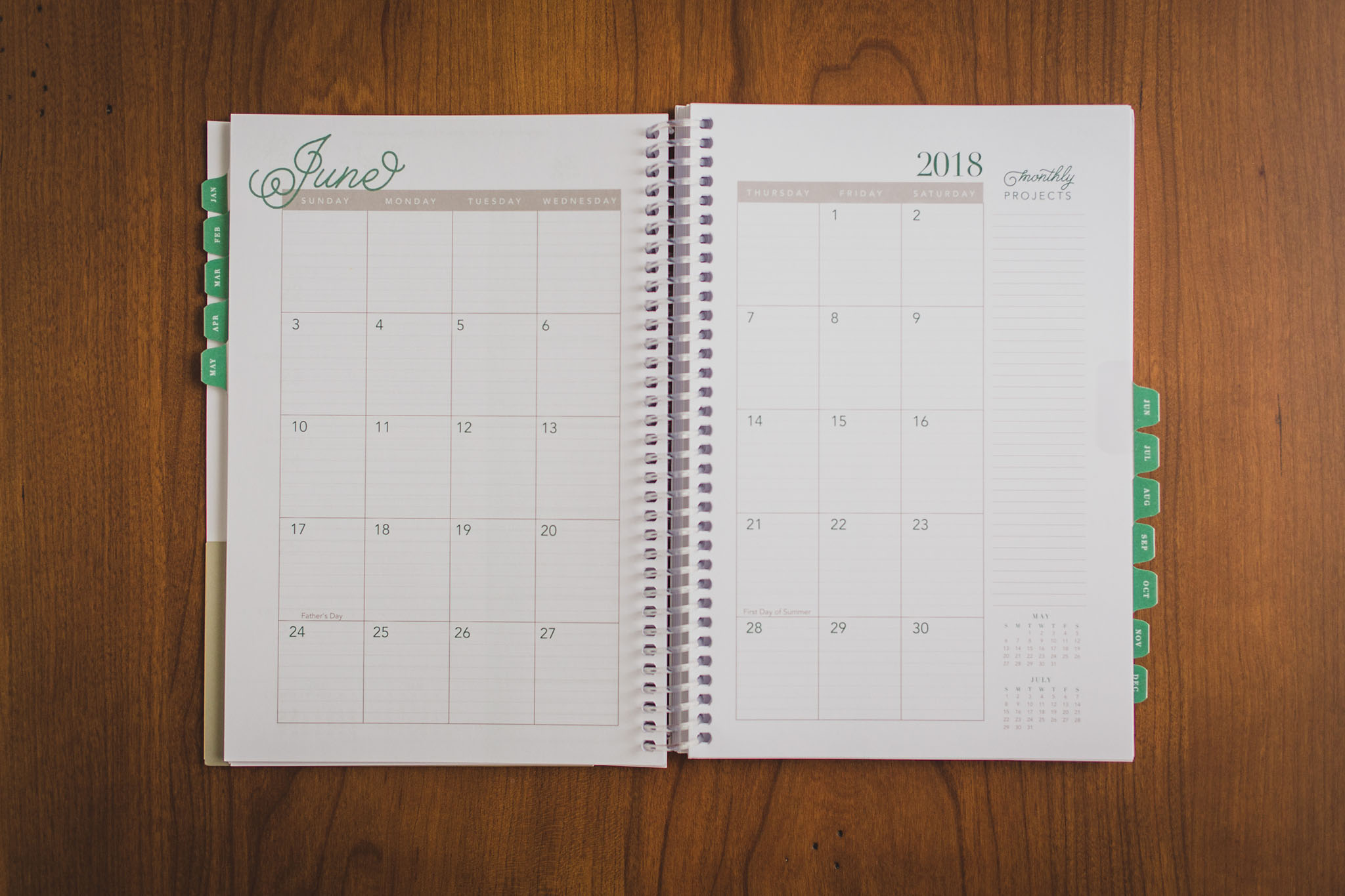 photograph about Time and to Do Planner named Year Keeper Planner 2018